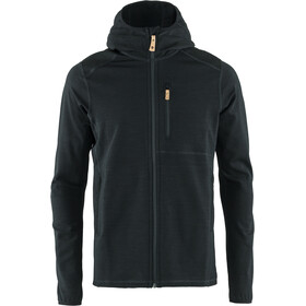 Fjällräven Keb Fleece Hoodie Heren, black